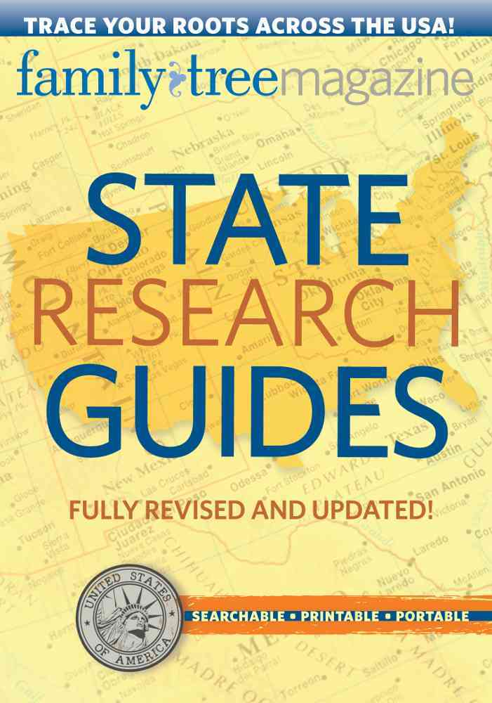 State Research Guides By Family Tree Magazine